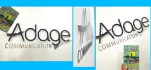 Du nouveau chez Adage Communication !!