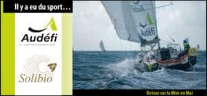 Audéfi-Solibio 824 et Pierre-Olivier Grand poursuivent leur folle aventure sur la Mini en Mai 2021